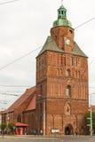 Vecchia chiesa di Gorzow immagine stock libera da diritti