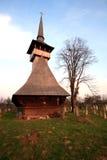 Vecchia chiesa di legno Fotografia Stock Libera da Diritti