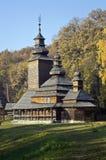 Vecchia chiesa di legno Immagine Stock