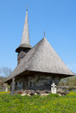 Vecchia chiesa di legno Immagini Stock