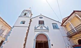 Vecchia chiesa di Panama City Fotografia Stock Libera da Diritti