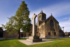 Vecchia chiesa di parrocchia di Falkirk Fotografie Stock Libere da Diritti