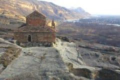Vecchia chiesa di pietra Fotografia Stock