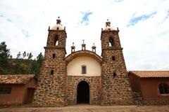 Vecchia chiesa di pietra rurale Fotografia Stock