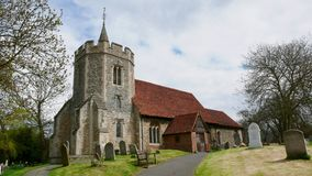 Vecchia chiesa in Essex immagine stock libera da diritti