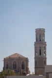 Vecchia chiesa in Figueras Immagine Stock Libera da Diritti