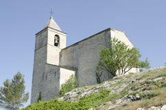 Vecchia chiesa in Francia Fotografie Stock Libere da Diritti