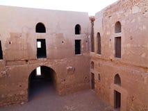 Vecchia chiesa in Giordania fotografia stock