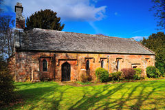 Vecchia chiesa inglese Fotografia Stock