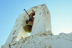 Vecchia chiesa a Kythera Immagine Stock