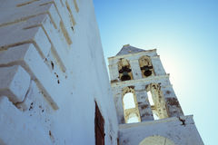 Vecchia chiesa a Kythera Fotografia Stock