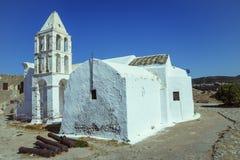 Vecchia chiesa a Kythera Immagini Stock Libere da Diritti