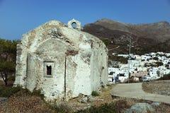 Vecchia chiesa a Kythera Immagine Stock Libera da Diritti