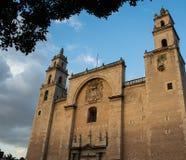 Vecchia chiesa messicana Fotografia Stock Libera da Diritti