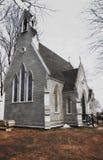 Vecchia chiesa minuscola di New Hampshire Immagine Stock