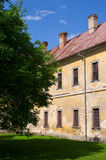 Vecchia chiesa nella polizia nad Metuji, repubblica Ceca Immagine Stock Libera da Diritti