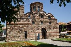 Vecchia chiesa in Nesebar Immagini Stock Libere da Diritti