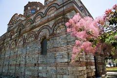 Vecchia chiesa in Nesebar Immagine Stock