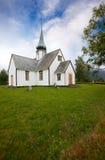 Vecchia chiesa Norvegia immagini stock