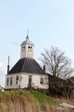 Vecchia chiesa olandese tipica fotografia stock libera da diritti