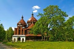 Vecchia chiesa ortodossa greca Fotografie Stock