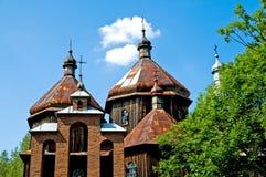 Vecchia chiesa ortodossa greca Fotografia Stock
