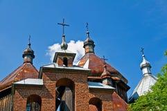 Vecchia chiesa ortodossa greca Immagini Stock