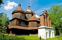 Vecchia chiesa ortodossa greca Immagine Stock