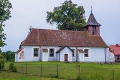 Vecchia chiesa in Polonia Fotografia Stock Libera da Diritti