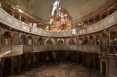 Vecchia chiesa protestante in Polonia Fotografia Stock