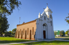 Vecchia chiesa rurale Fotografie Stock
