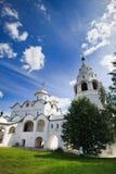 Vecchia chiesa russa Fotografia Stock