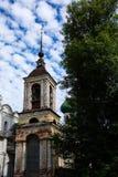 Vecchia chiesa in Russia Fotografia Stock
