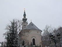 Vecchia chiesa in Serbia fotografia stock libera da diritti
