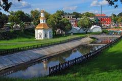 Vecchia chiesa in Sergiev Posad, Russia Immagini Stock Libere da Diritti