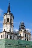 Vecchia chiesa in Tobol'sk. La Russia fotografie stock