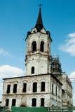 Vecchia chiesa in Tobol'sk. La Russia fotografie stock libere da diritti
