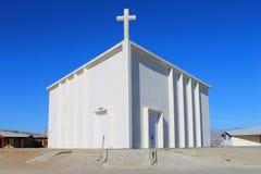 Vecchia chiesa triangolare Immagine Stock Libera da Diritti