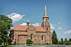 Vecchia chiesa in Ucraina Immagini Stock