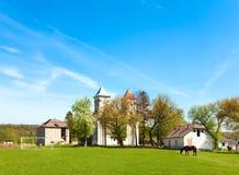 Vecchia chiesa (Ucraina) Fotografie Stock Libere da Diritti