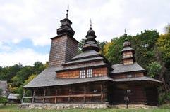 Vecchia chiesa ucraina immagine stock
