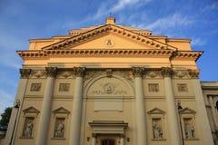 Vecchia chiesa a Varsavia Fotografia Stock