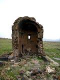 Vecchia chiesa Yeghvard di Zoravar Fotografie Stock Libere da Diritti