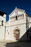 Vecchia chiesa in Zadar Immagine Stock