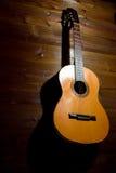 Vecchia chitarra Fotografia Stock
