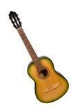 Vecchia chitarra Immagini Stock Libere da Diritti
