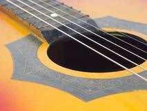 Vecchia chitarra Immagini Stock