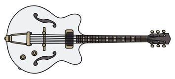 Vecchia chitarra elettrica Fotografia Stock Libera da Diritti