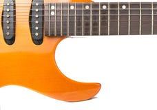 Vecchia chitarra elettrica Immagini Stock