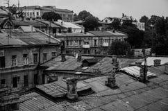 Vecchia città Immagini Stock Libere da Diritti
